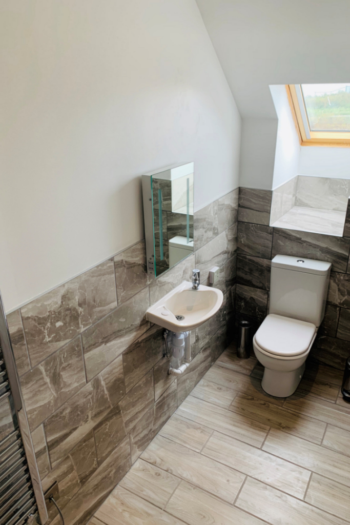 Moelfre En-Suite Low Access Shower Room